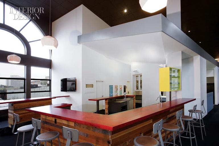 互动设计机构办公室设计:西雅图科技中心总部