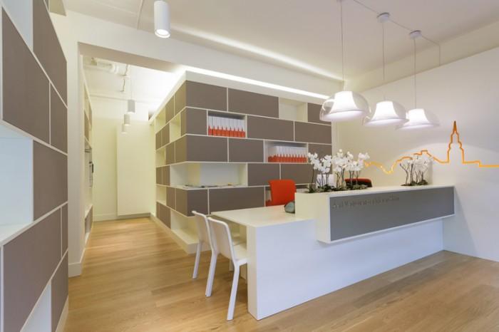现代简约风格办公室设计:医疗行业公司