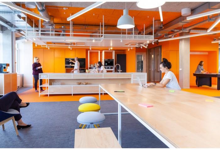 智能家居公司办公室设计效果图