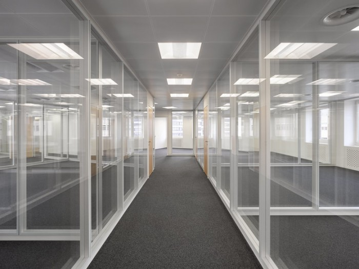 投资基金公司总部办公室设计效果图