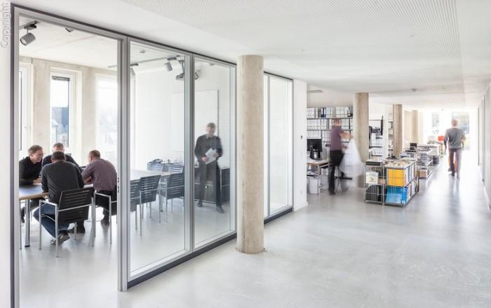 建筑公司办公室设计效果图
