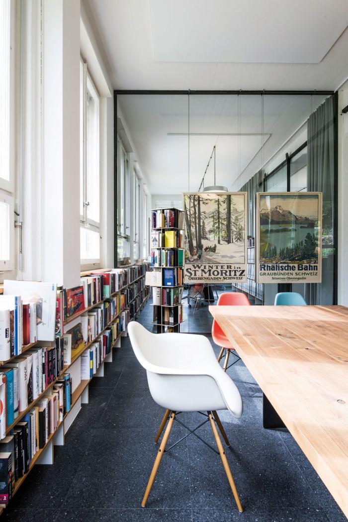 现代简约风图书馆设计效果图