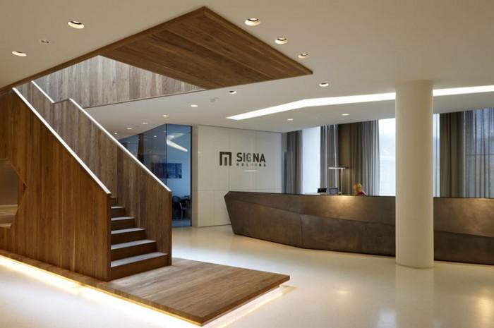 简约商务风格办公室设计:百货公司Signa控股总部