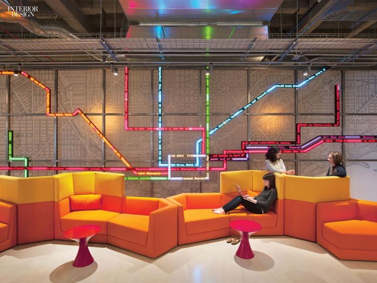 通讯设备公司办公室设计:芝加哥摩托罗拉总部