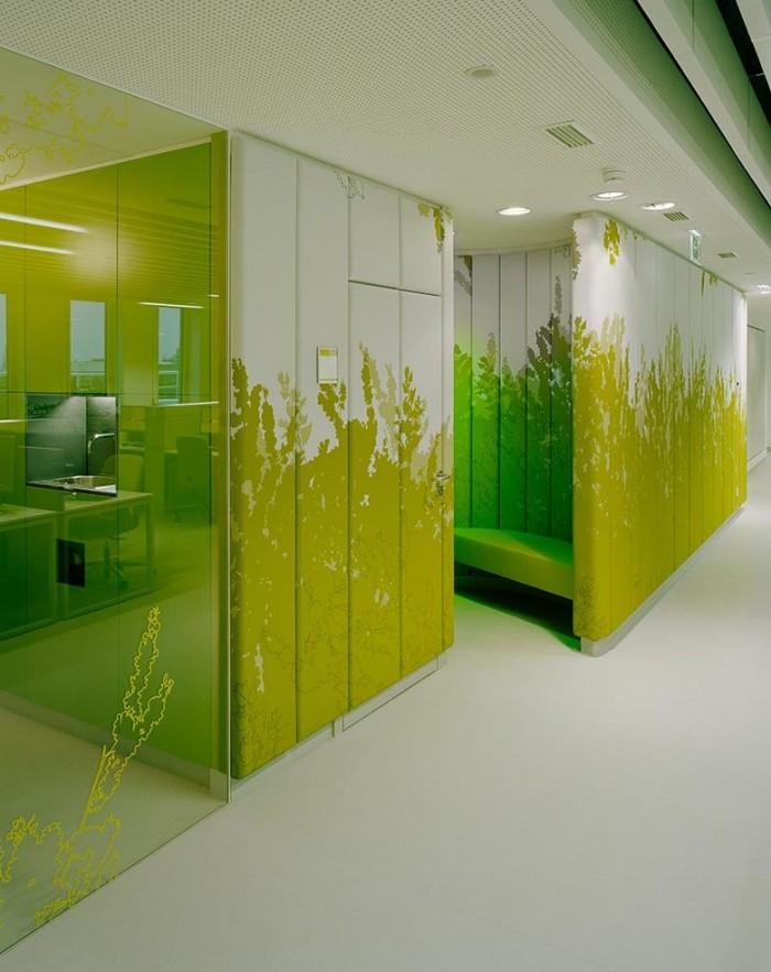 德国电信客户服务中心办公室设计