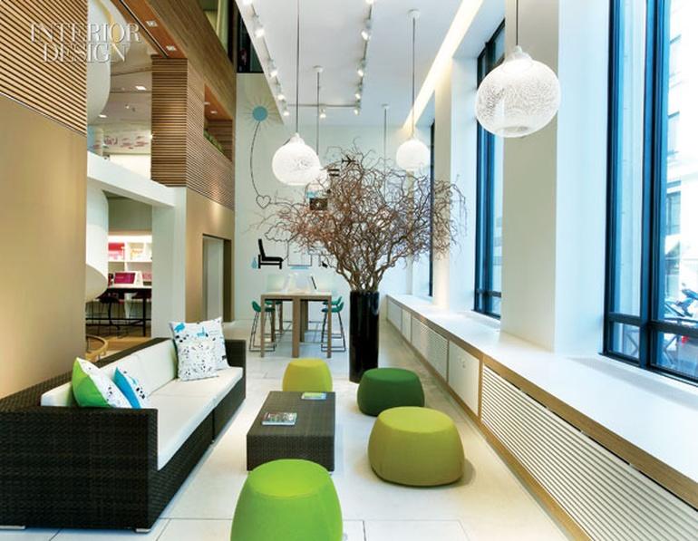 房地产办公室设计:巴黎银行改装项目