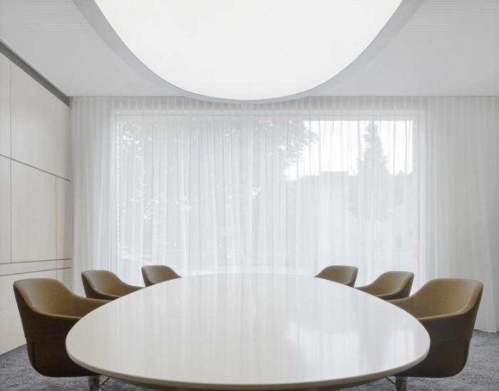 黑白极简风格律师事务所办公室设计效果图分享