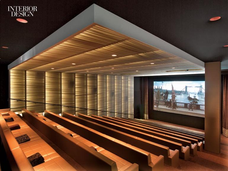 奢华电影院空间设计:洛杉矶大型影院公司