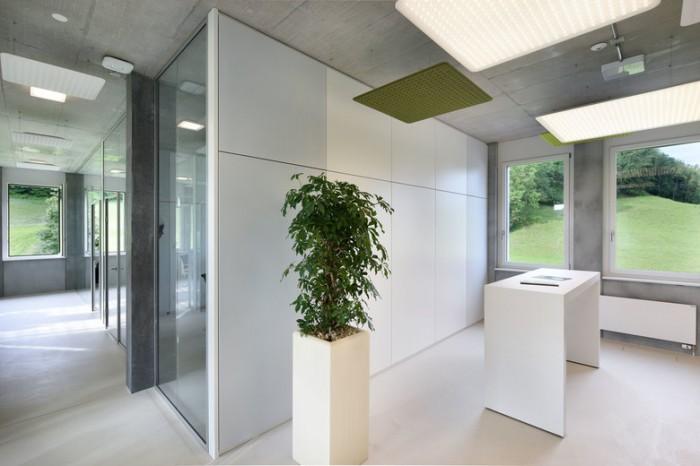 建筑工程公司办公室设计效果图