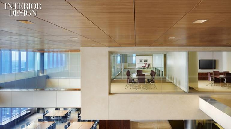 现代风格办公室设计:芝加哥律师事务所