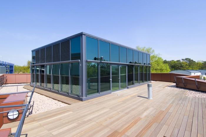 新媒体商业中心办公室空间设计案例分享