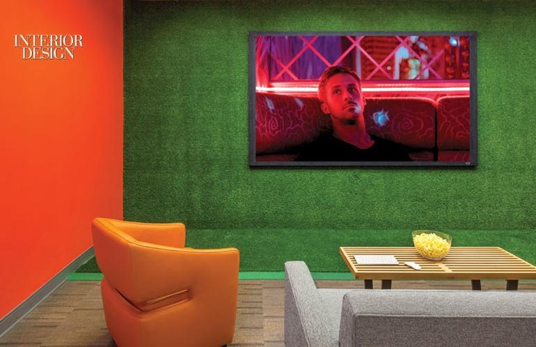 艺术风格办公室设计:洛杉矶史密斯集团