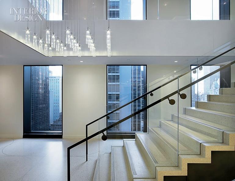 律师事务所办公室设计:纽约哥伦比亚广播公司大楼