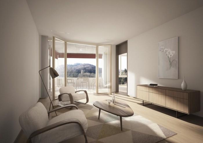 科技企业办公区人才公寓空间设计效果图分享