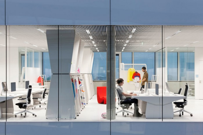 运动服装设计公司adidas 总部办公室设计效果图