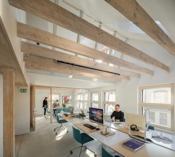 房地产建筑设计公司办公室设计效果图