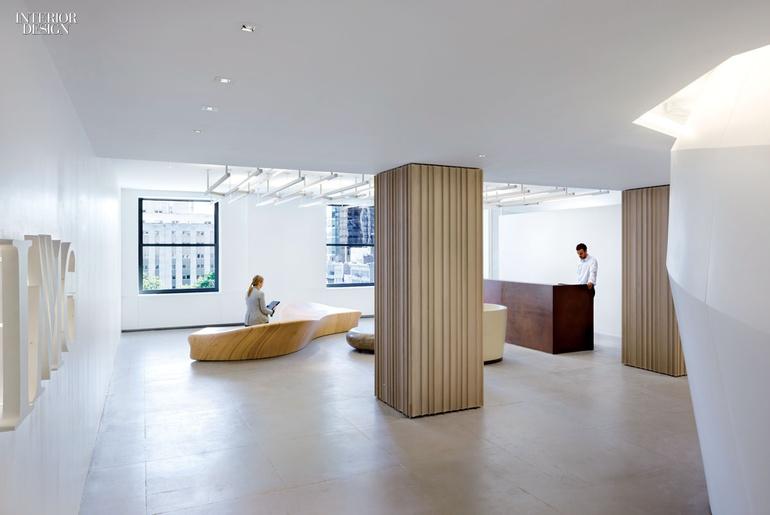 纽约全球时尚咨询公司办公室设计案例分享