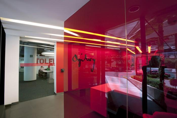 广告公司办公室设计效果图:奥美品牌设计