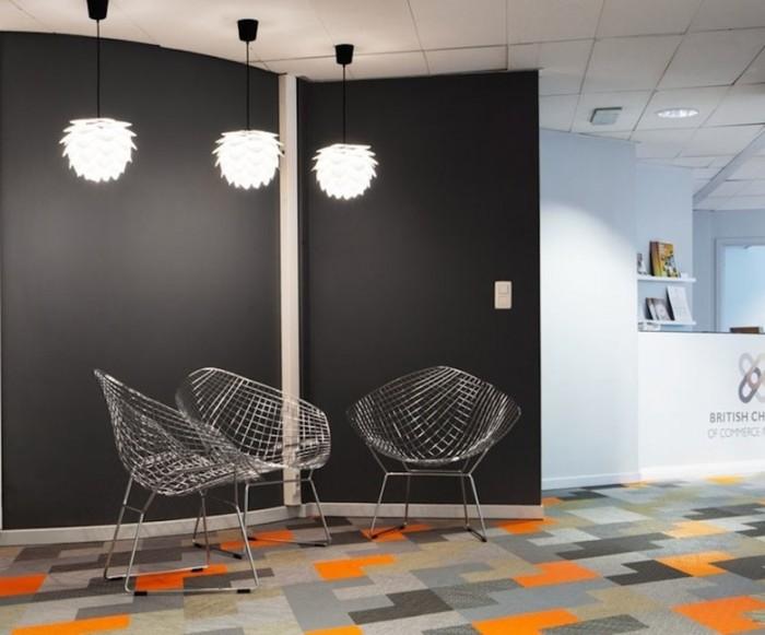 商会办公室设计效果图:比利时英国商会
