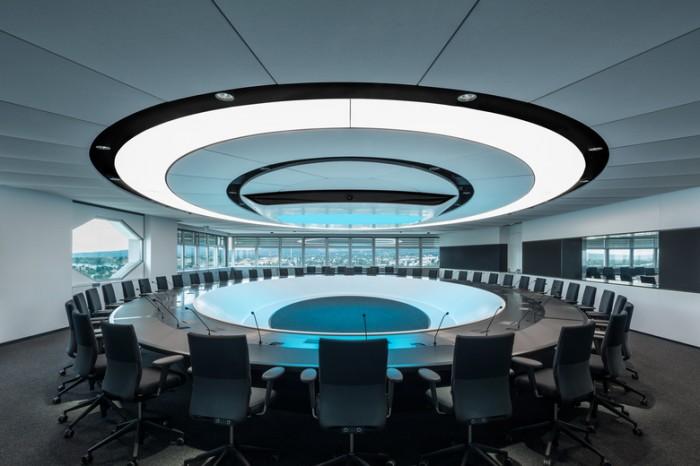 通信公司总部办公室设计:维也纳ORF总部