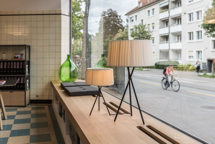 家具设计公司办公室展厅空间设计效果图