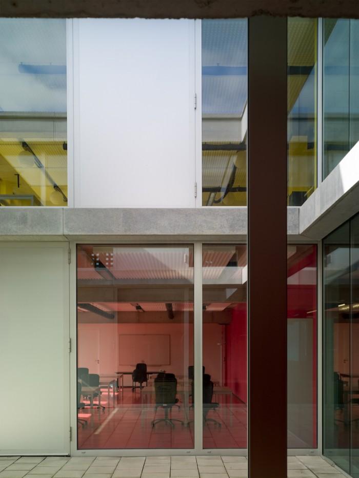 软件开发公司总部办公室设计:VDAB公司