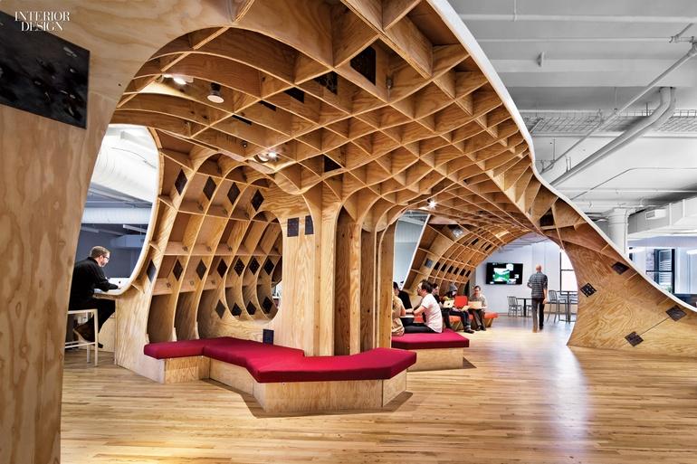 纽约技术公司创意风格办公室设计案例分享