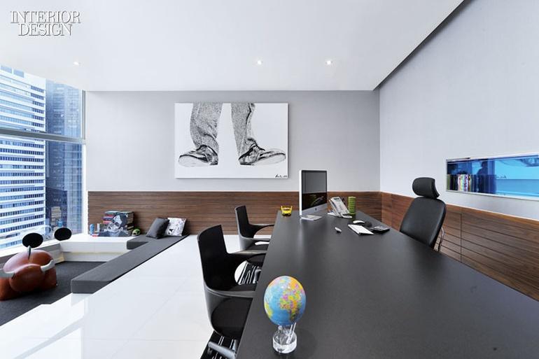 香港艺术简约风格办公室设计分享