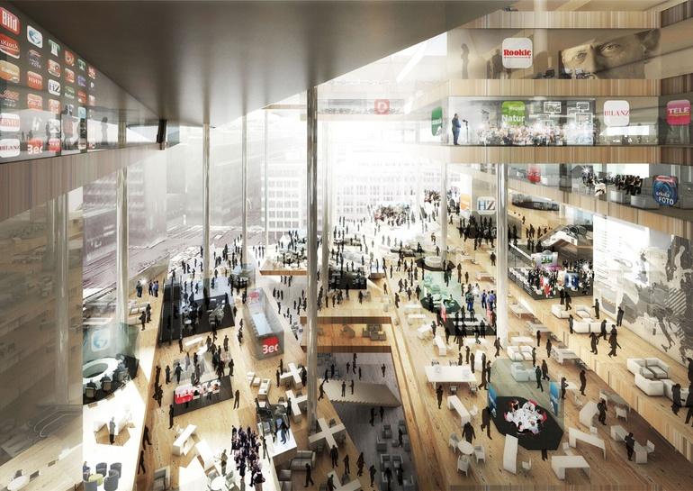 6个超级未来风格的办公室设计案例