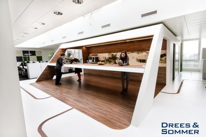 餐饮香料公司总部办公室设计效果图