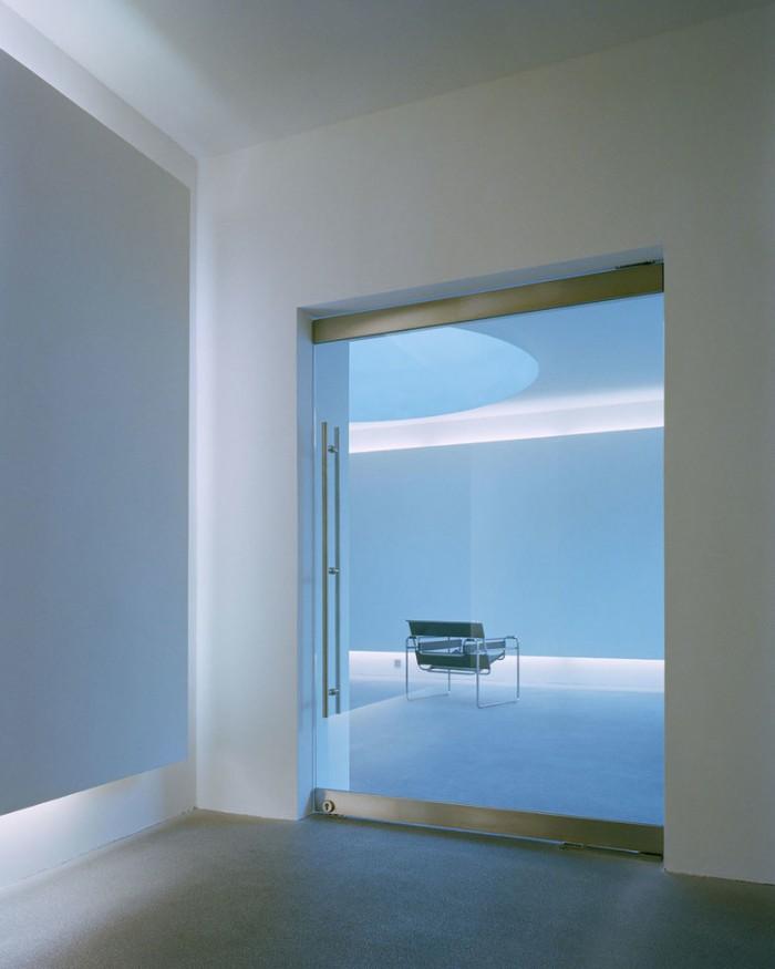 画展展厅空间设计效果图