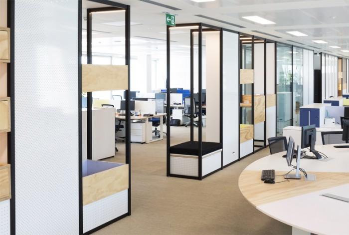 意大利米兰国际监测系统研究公司办公室设计