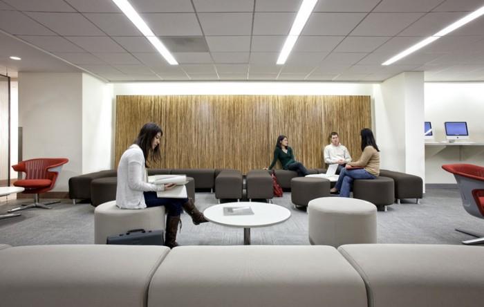 信息技术公司办公室设计效果图分享