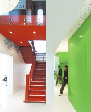 现代极简风格办公室效果图片欣赏