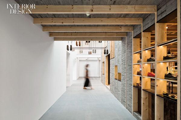工业风格办公室设计:上海时尚鞋商公司