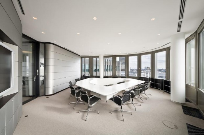 德国财务审计公司办公室设计效果图